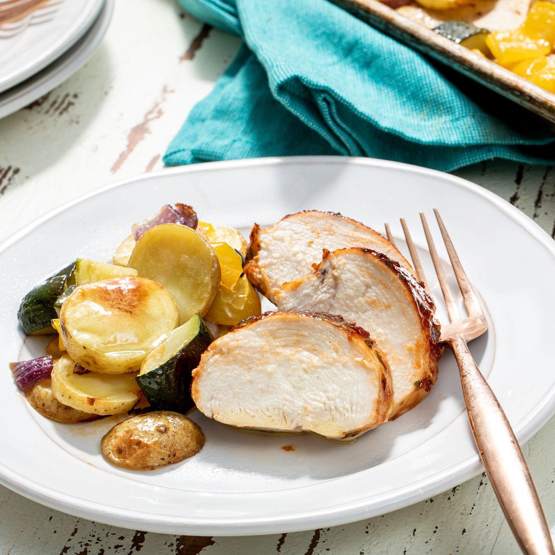 Sheet Pan Sweet Heat & Citrus Chicken