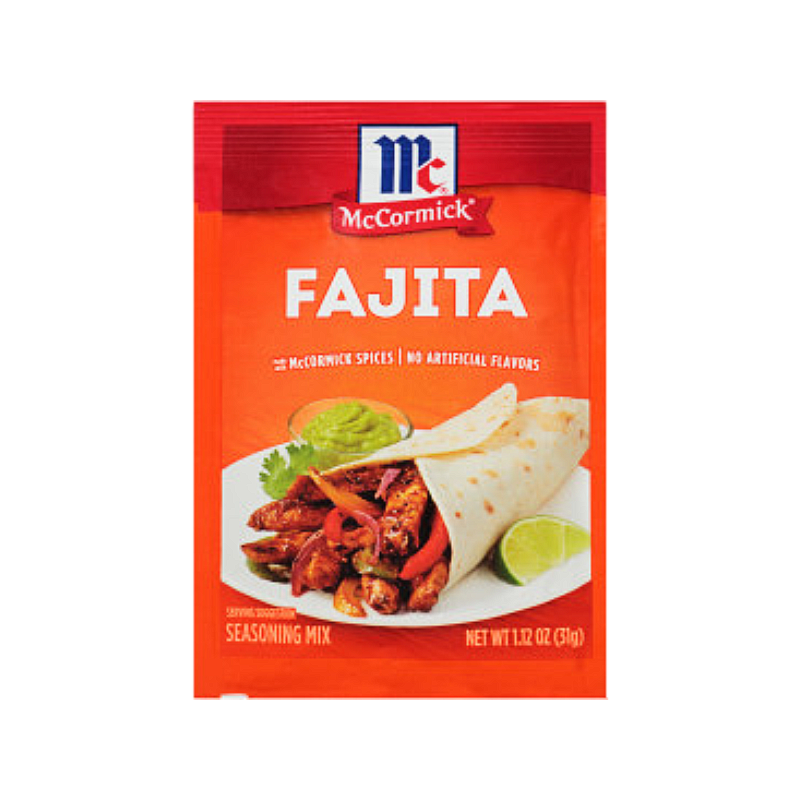McCormick® Fajitas Seasoning Mix Packet