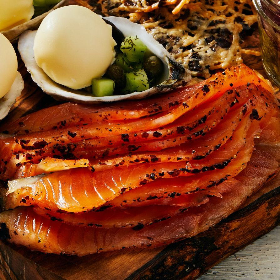 Underwater under discovered Dulse Cured Salmon