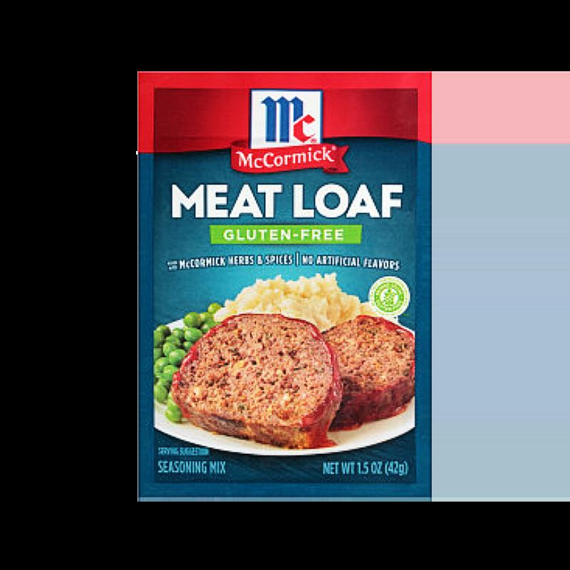 McCormick® Gluten Free Meat Loaf Seasoning
