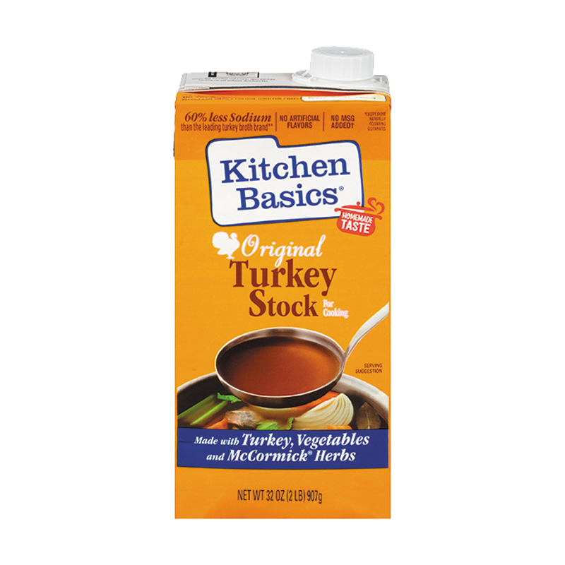 kitchen basics original turkey stock
