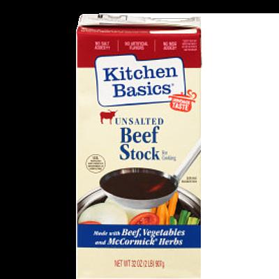 Kitchen Basics® Unsalted Beef Stock