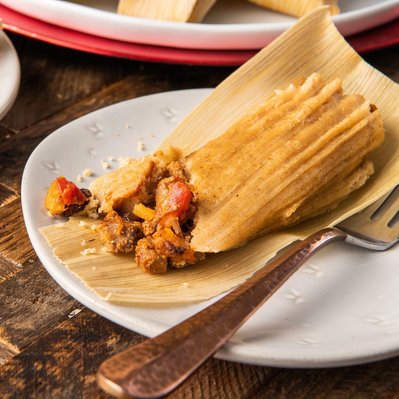 Tamales de Carne al Chipotle