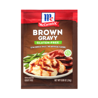 McCormick® Gluten Free Brown Gravy Mix