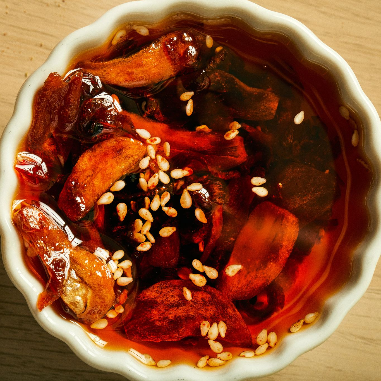 Humble Nosh Homemade Chili Crisp
