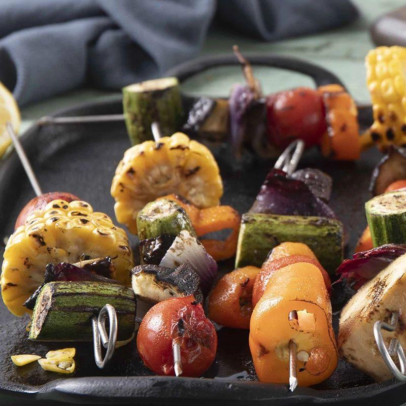 Spiedini alle verdure con BBQ Vegetables La Drogheria 1880