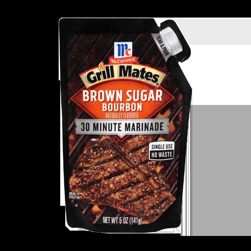McCormick® Grill Mates® Brown Sugar Bourbon Single Use Marinade