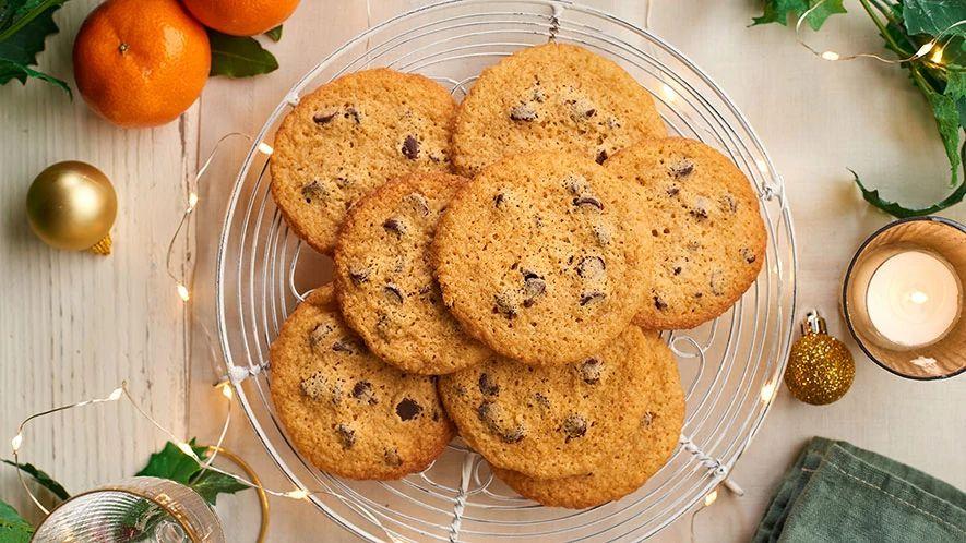 Cookies aux pépites de chocolat et au gingembre