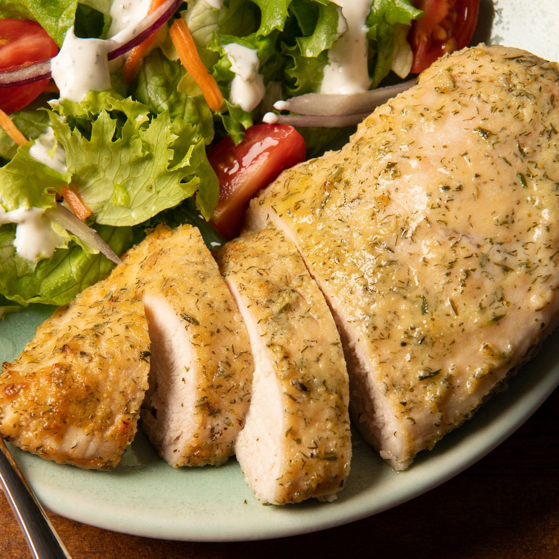homestyle ranch baked chicken