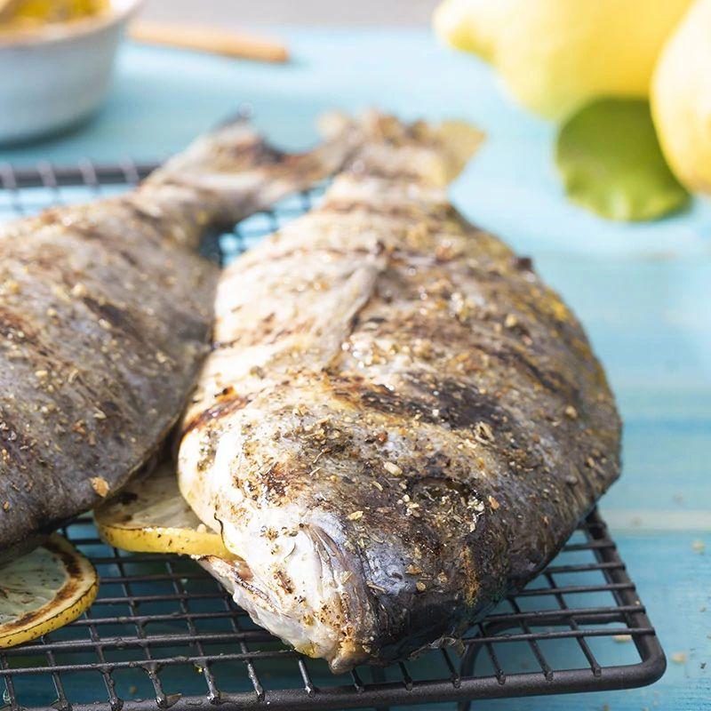 Pesce alla griglia con BBQ Fish & Scampi La Drogheria 1880