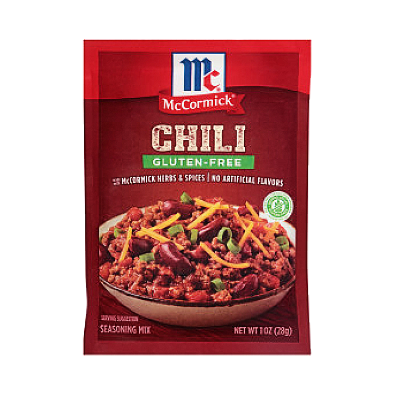 McCormick® Gluten Free Chili Seasoning Mix